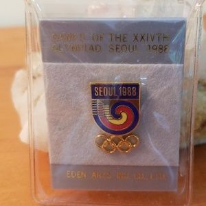 Olympic Pin Seoul 1988 Games